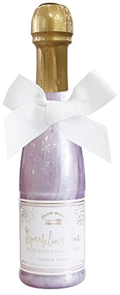 拡声器ディスコ申請者ノルコーポレーション 入浴剤 バブルバス スパークリングタイム カシス&バニラの香り 240ml OB-SMM-38-2