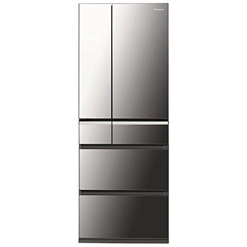 RoomClip商品情報 - パナソニック 501L 6ドア冷蔵庫(オニキスミラー)Panasonic ナノイー エコナビ NR-F511XPV-X