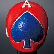 スーパー戦隊シリーズ スーパー戦隊マスクコレクションI 赤の伝説  「 02  スペードエース 」 単品