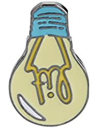 Ruikey  新しい ファッション  ブローチ  電球 デザイン クリエイティブ 小さい おしゃれ 可愛い 美しい きれい アクセサリー ジュエリー プレゼント 贈り物