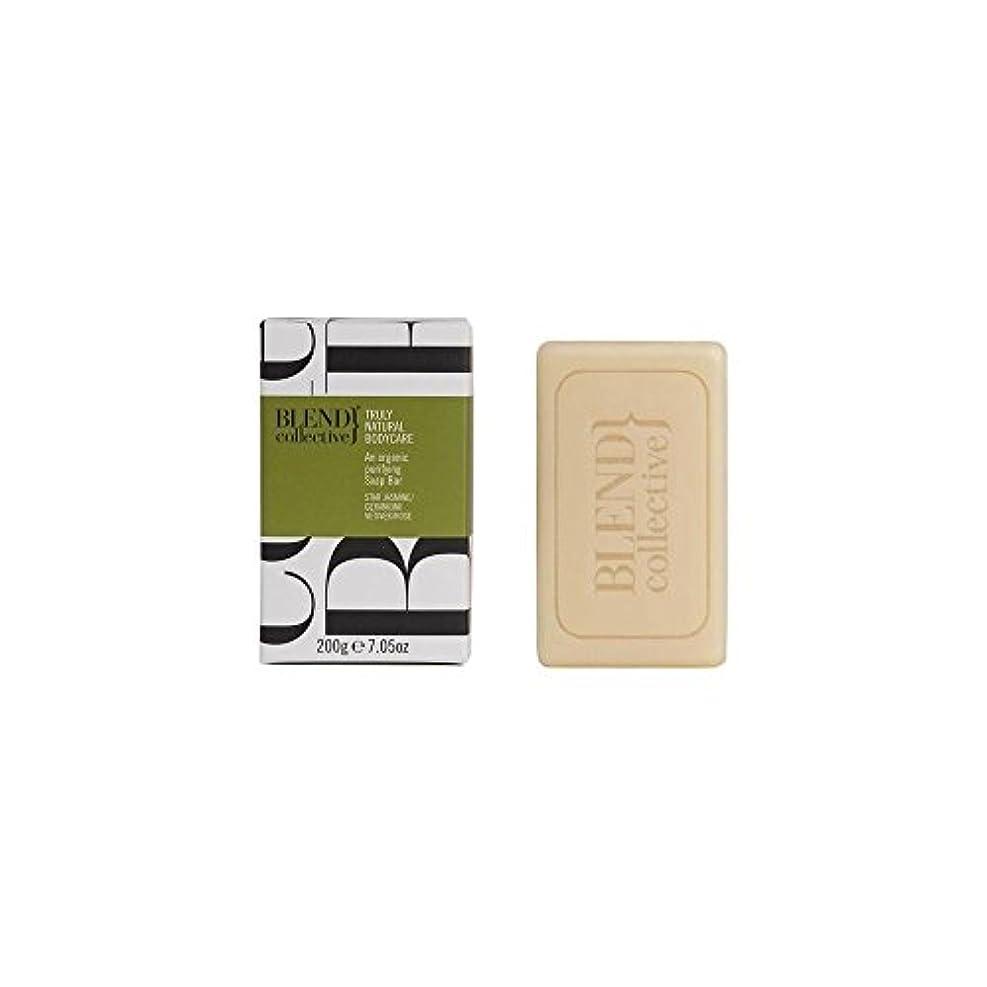 スポンジ等価シングルBlend Collective Balancing Soap Bar (200g) 集団バランシングソープバー( 200グラム)をブレンド [並行輸入品]