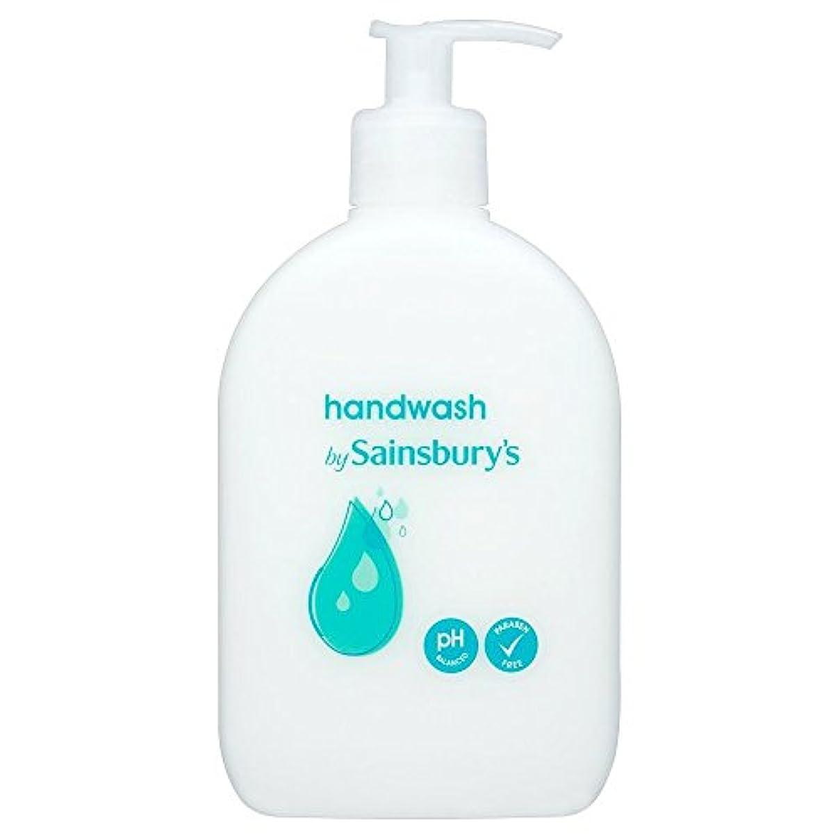 信じられないバッテリー口径Sainsbury's Handwash, White 500ml - (Sainsbury's) 手洗い、白500ミリリットル [並行輸入品]