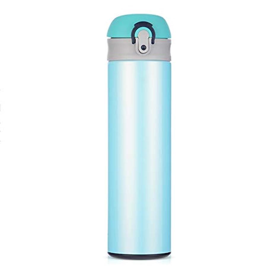 カタログブリーク戻す水ボトル冷たいと熱い、真空断熱ステンレス鋼500ミリリットル、オフィス飲料茶ジム屋外スポーツ魔法瓶、車のフラスコ旅行マグ月ボトル小、二重層