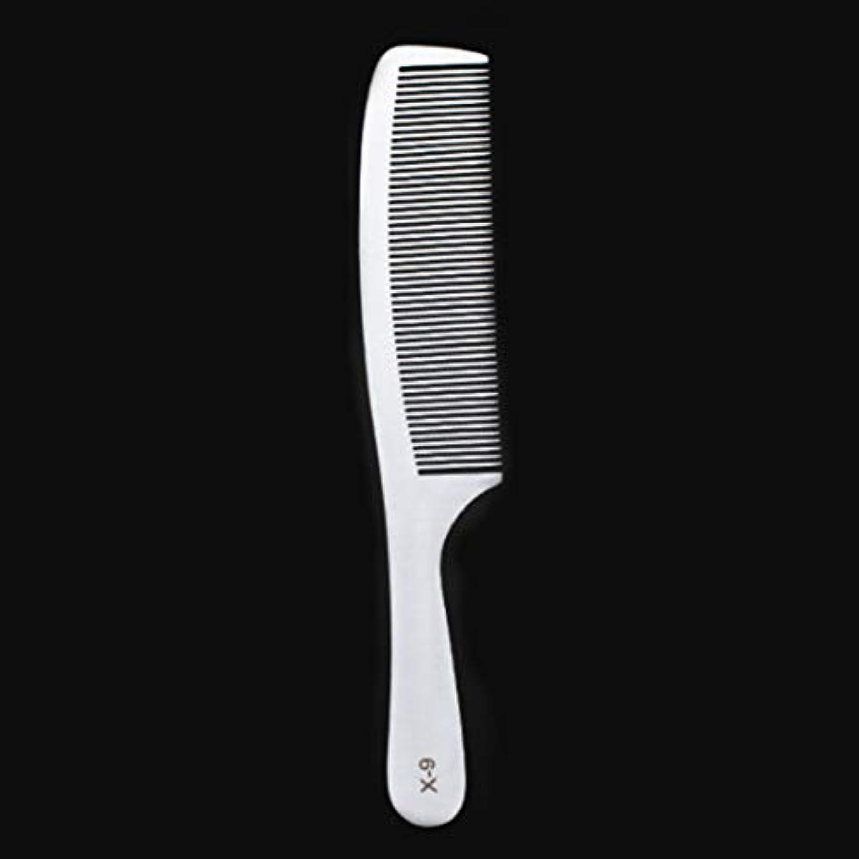 排泄物ひねり釈義Guomao 特別な薄いステンレス鋼の毛の櫛-女性のための帯電防止櫛 (サイズ : X9)