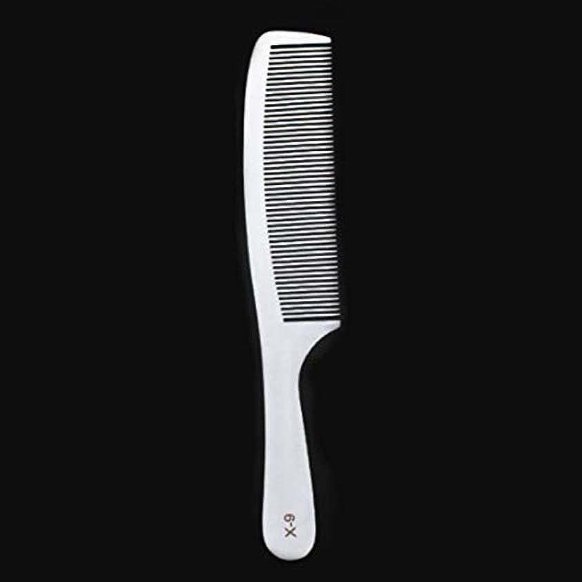 トレイ修羅場長老Guomao 特別な薄いステンレス鋼の毛の櫛-女性のための帯電防止櫛 (サイズ : X9)