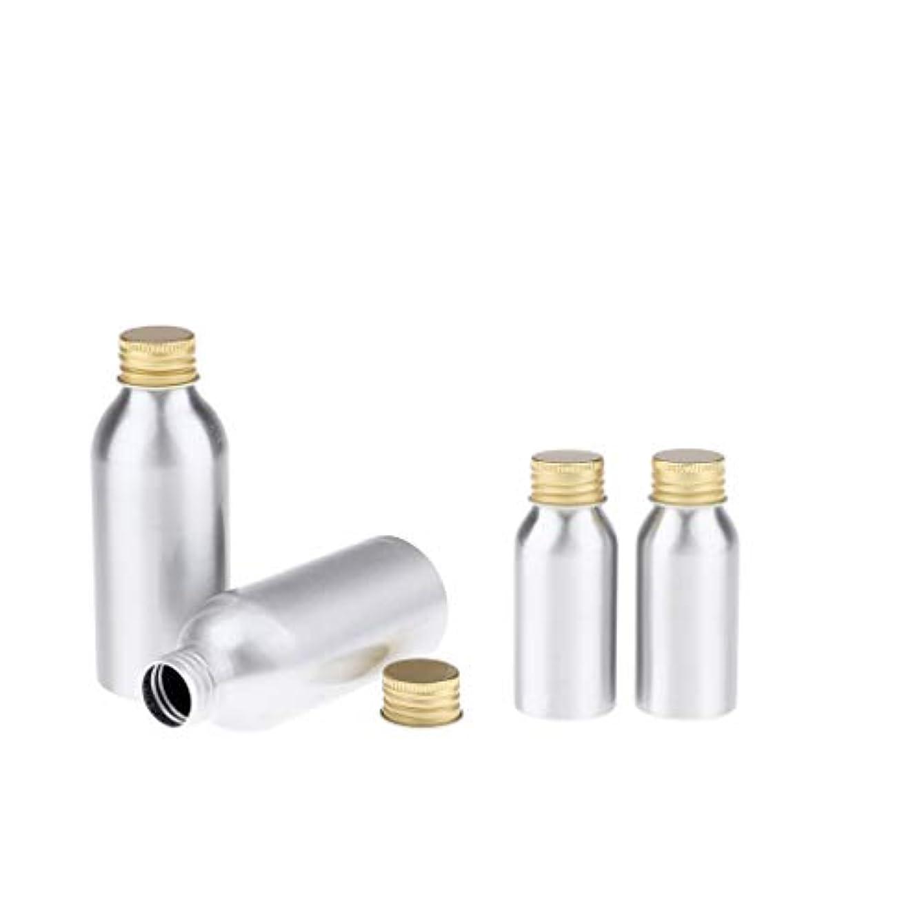 ハイランド申し立てる回るPerfeclan 全4点 アルミボトル 空のボトル 収納コンテナ 詰め替え容器