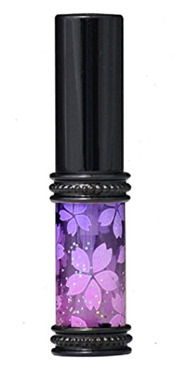 ヒロセアトマイザー メタルラメさくらアトマイザー 16178 PU/PK(メタルラメさくら パ-プル/ピンク) 真鍮玉レット飾り付