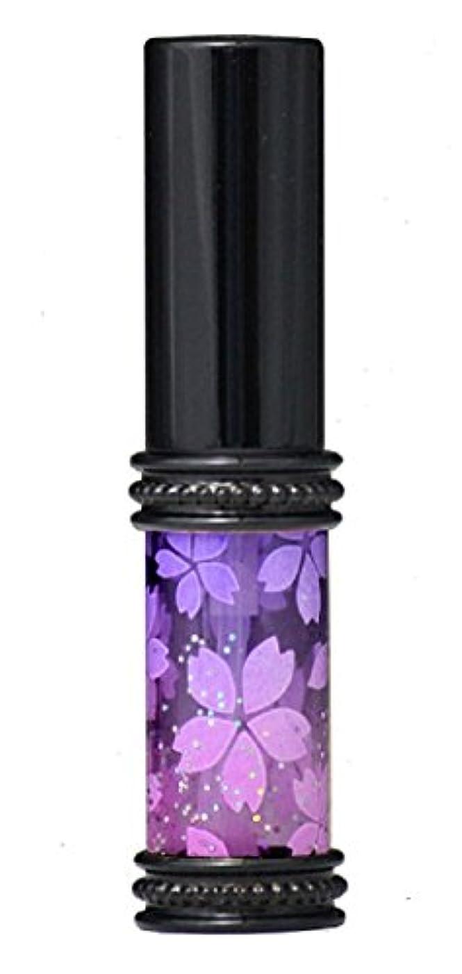 不合格応じる専門知識ヒロセアトマイザー メタルラメさくらアトマイザー 16178 PU/PK(メタルラメさくら パ-プル/ピンク) 真鍮玉レット飾り付