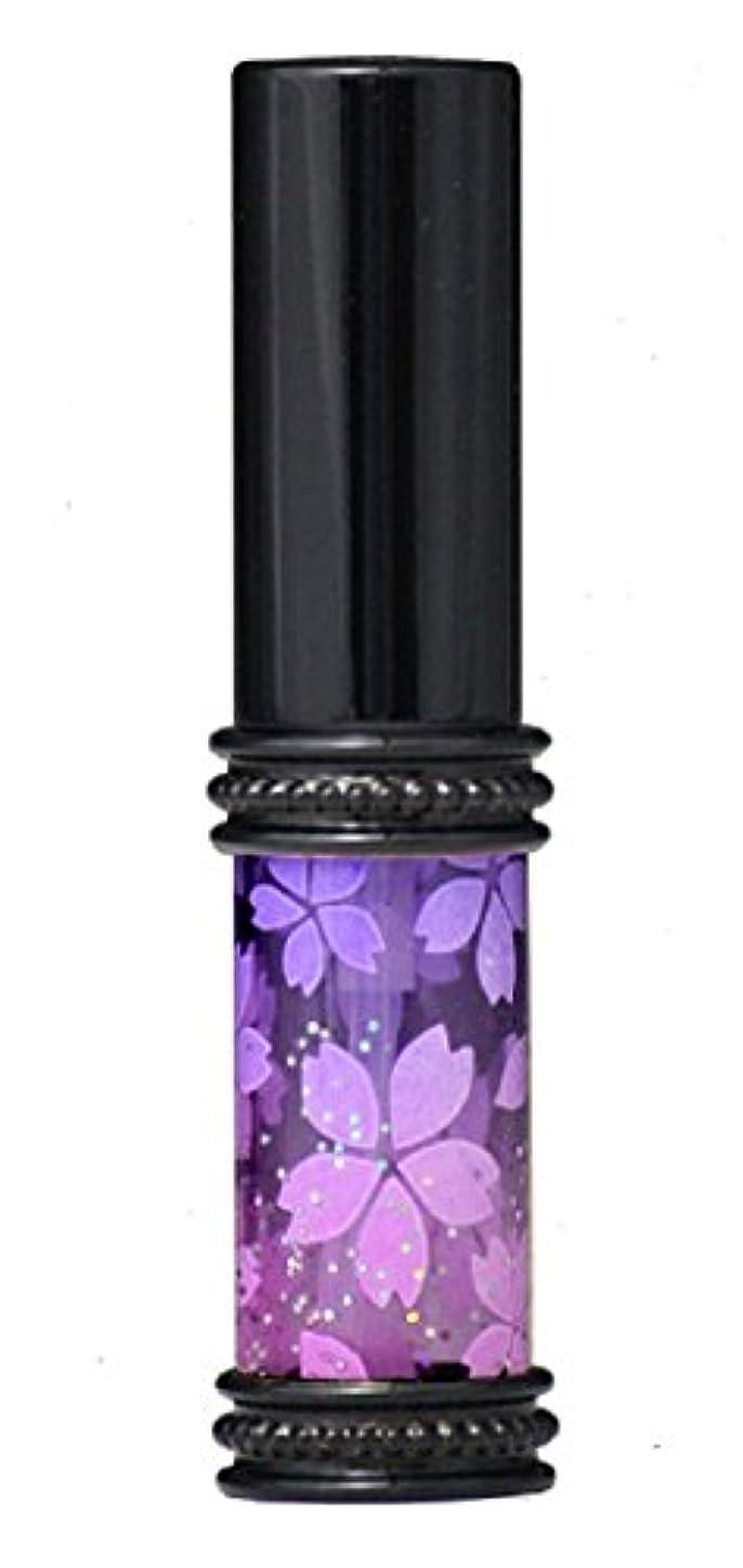 ジャーナル第タバコヒロセアトマイザー メタルラメさくらアトマイザー 16178 PU/PK(メタルラメさくら パ-プル/ピンク) 真鍮玉レット飾り付