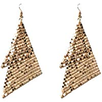 Colette Hayman - Glow Mesh Metal Drop Earrings