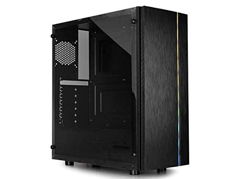 ブレスコレクション許されるRaidmax Blazar ATX ミッドタワー PC ゲームコンピューターケース つや消しフロントパネル ARGB LEDストリップ