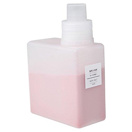 無印良品 薬用入浴剤・ローズの香り (新)500g 日本製