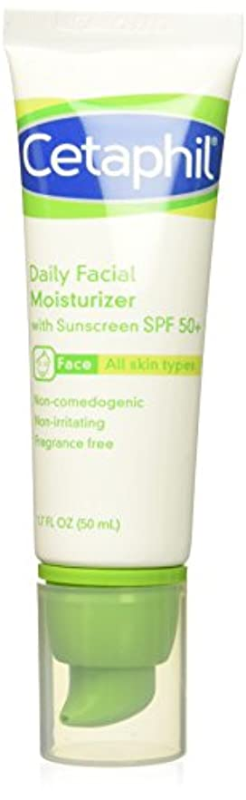 ローマ人気怠い連鎖Cetaphil UVA/UVB Defense SPF#50 Facial Moisturizer 50 ml