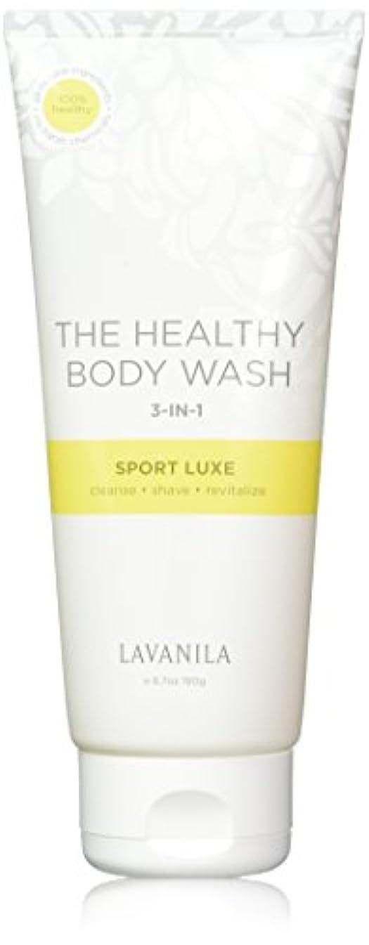 道徳の噴出する無傷The Healthy Body Wash Sport Luxe 3-in-1