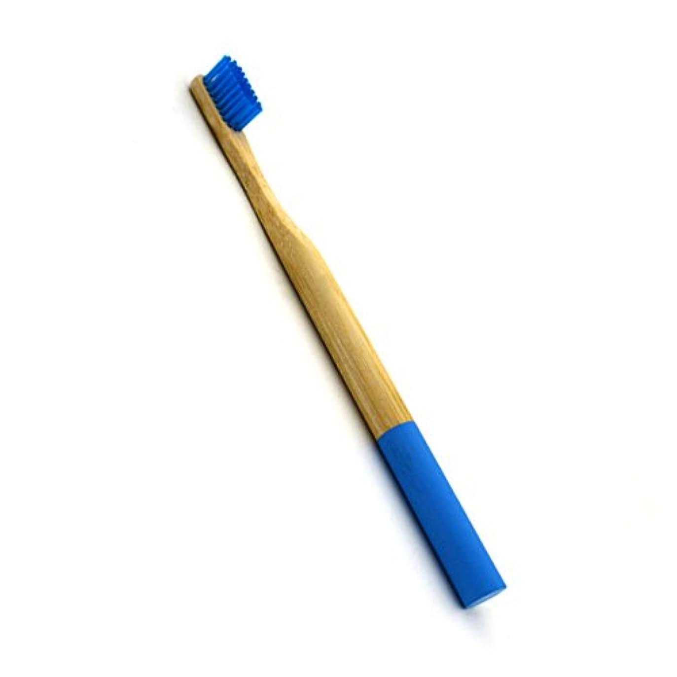 起きている無条件リスクROSENICE 竹歯ブラシラウンドハンドル自然な竹成人環境にやさしいソフトブリストル旅行歯ブラシ