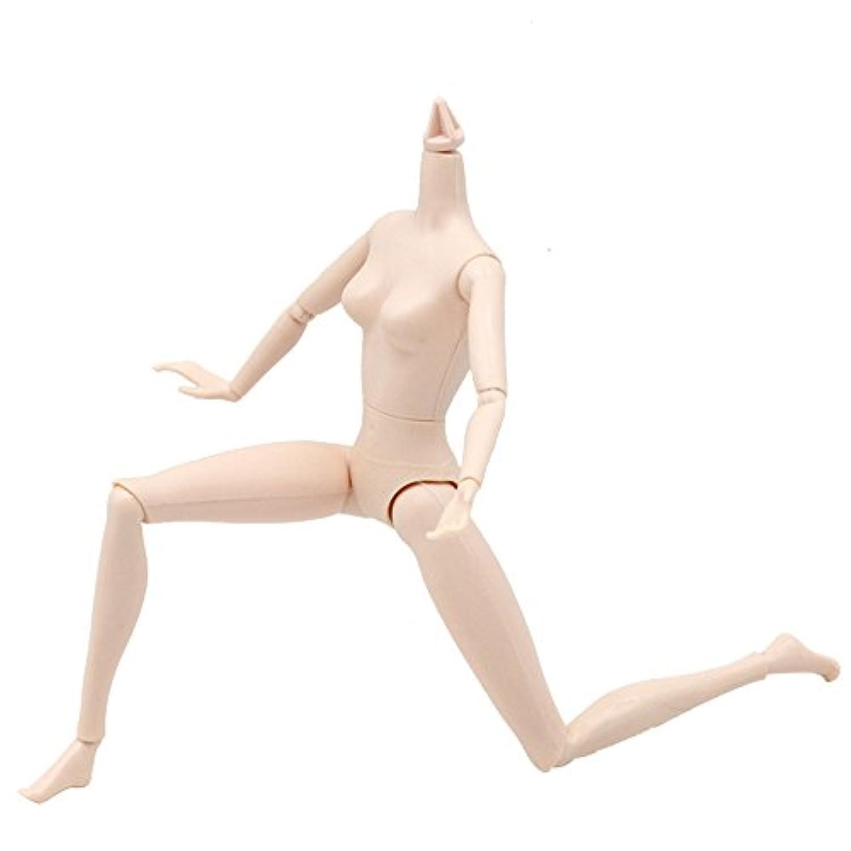 Rong バービー人形用おもちゃ ハロウィーン ガールズ 14ジョイント 可動性 ボディ おもちゃ 人形アクセサリー A ブラック aaa