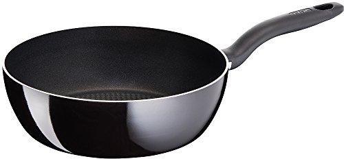 ティファール 炒め鍋 26cm 極深 フライパン ガス火専用 「 ハードチタニウム ブラック ディープパン 」