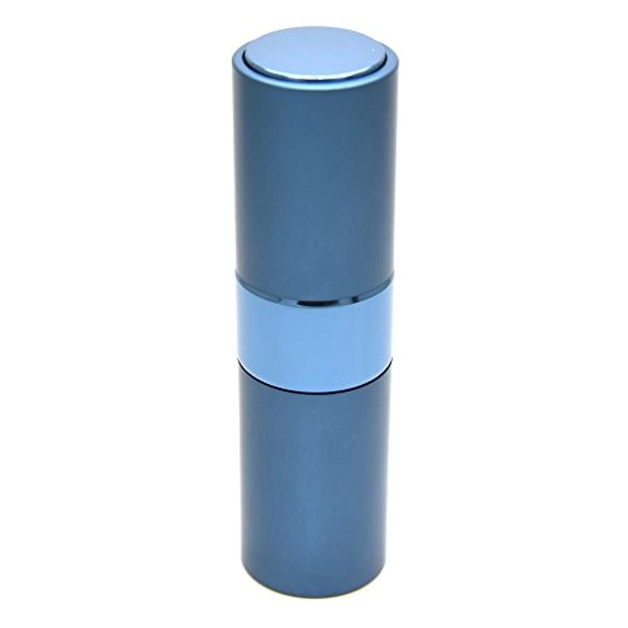 意気揚々肺炎細いPrilliant 香水 アトマイザー プッシュ式 詰め替え 携帯便利 オシャレ 容量15ml (ブルー)