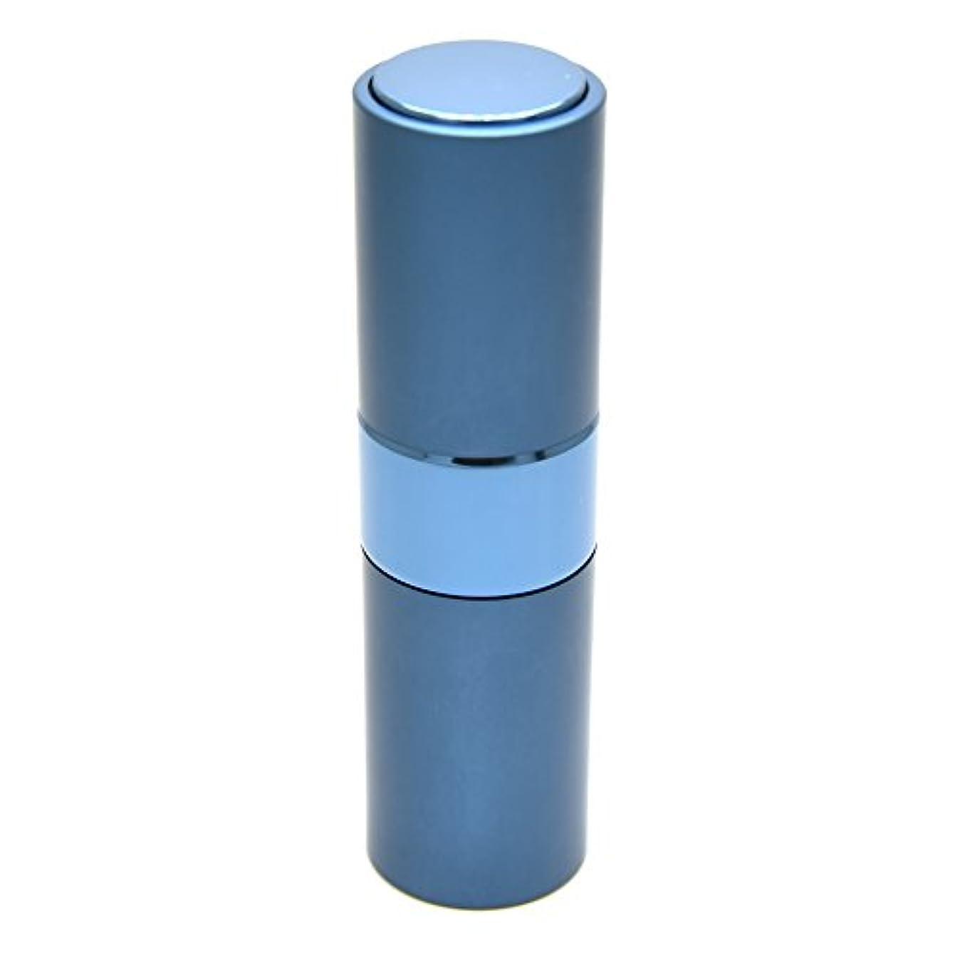上記の頭と肩完了アトラスPrilliant 香水 アトマイザー プッシュ式 詰め替え 携帯便利 オシャレ 容量15ml (ブルー)
