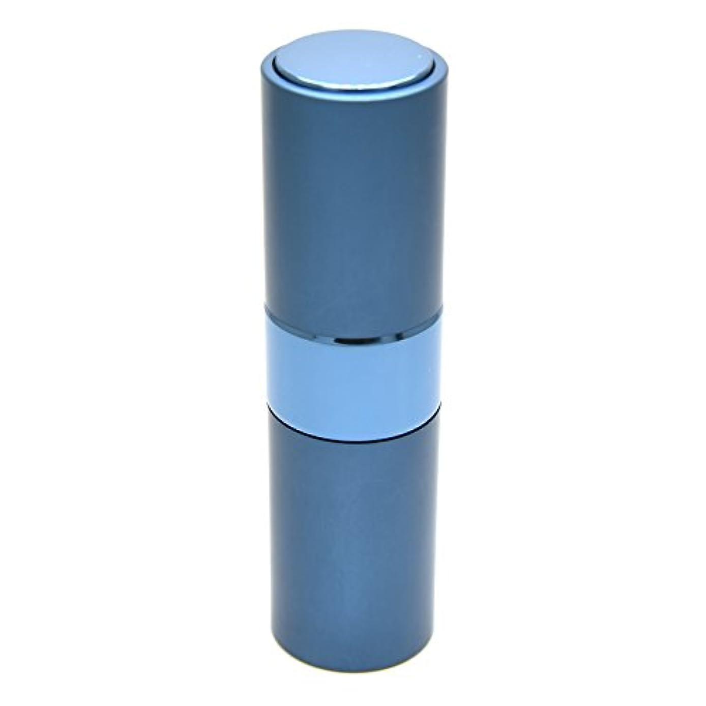 の配列平行ナットPrilliant 香水 アトマイザー プッシュ式 詰め替え 携帯便利 オシャレ 容量15ml (ブルー)