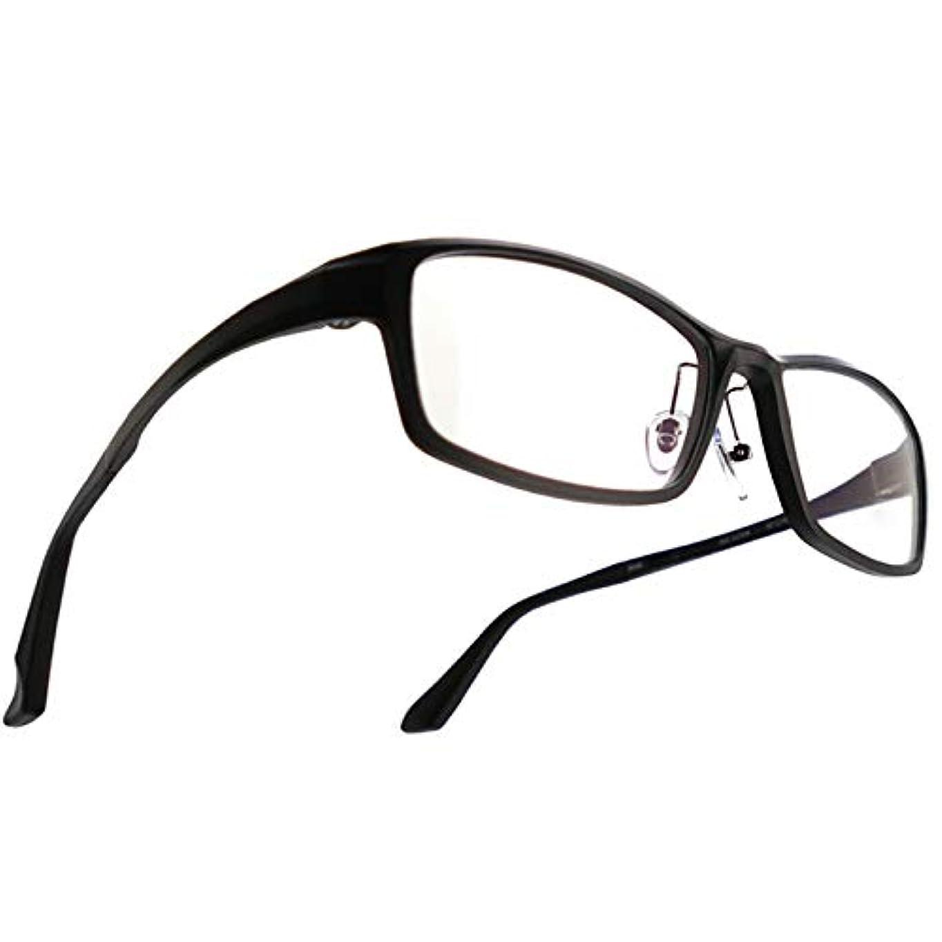 SHOWA (RSN) スティーズ ウルトラ ライト 遠近両用 メガネ (メンズセット) 全額返金保証 老眼鏡 リーディンググラス 眼鏡 (瞳孔距離:69mm~70mm, 近くを見る度数:+1.0)