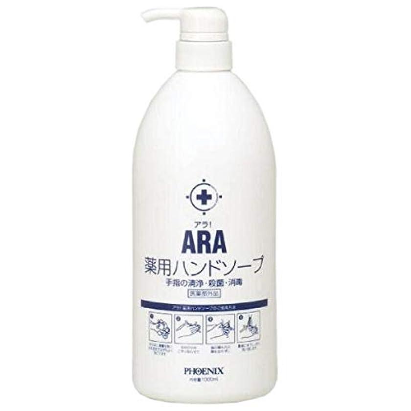 永久チューリップ読書ARA 薬用ハンドソープ(ボトルタイプ) 1000ml×10本入
