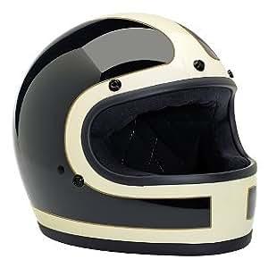 Biltwell ビルトウェル Gringo Tracker Limited Edition Helmet 2015モデル ヘルメット ホワイト/ブラック/ゴールド L(59~60cm)
