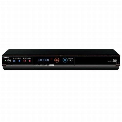 SHARP AQUOS ブルーレイディスクレコーダー 320GB シングルチューナー 3D対応 BD-H30