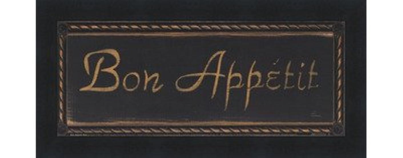 避ける台風穀物Bon Appetit Noir by Grace Pullen – 10 x 4インチ – アートプリントポスター LE_639564-F101-10x4