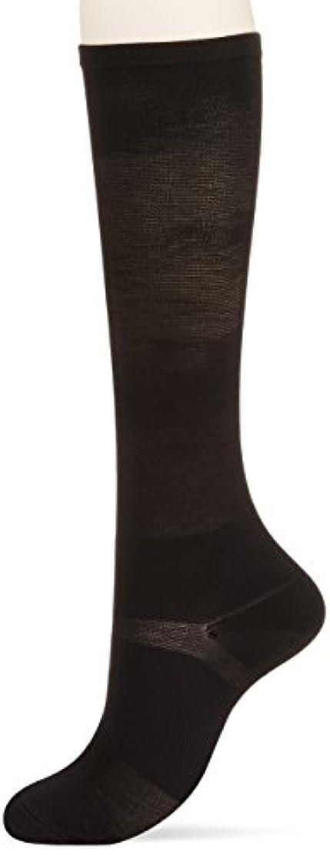 目指す連続した剥ぎ取る医学博士の考えた着圧靴下ブラックL