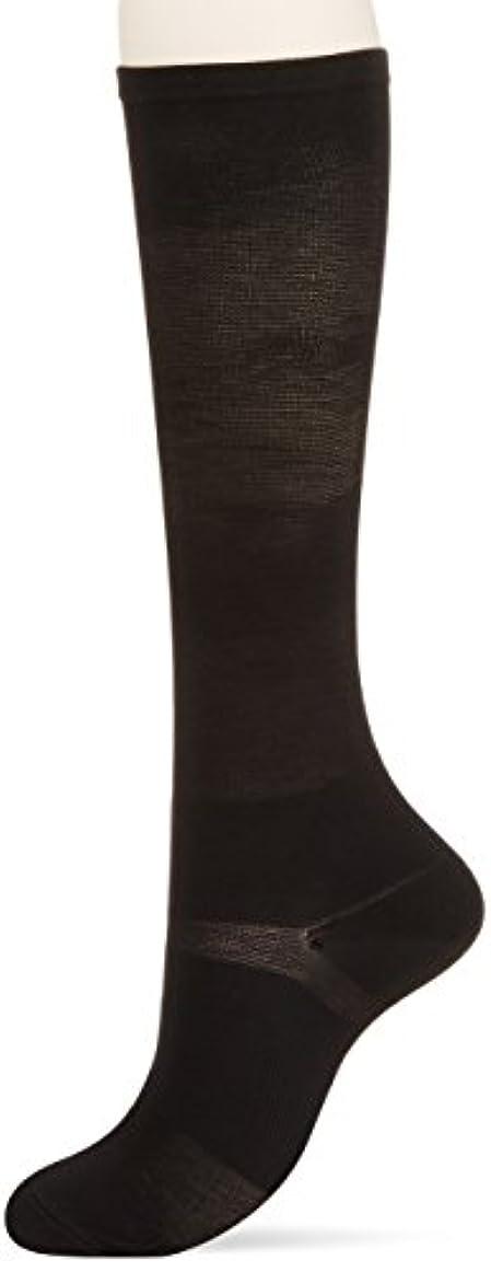 祭司あたたかい途方もない医学博士の考えた着圧靴下ブラックL
