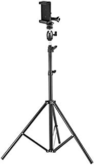 Neewer 75 inches/190 centimeters Photo Studio Light Stand with Mini Ball Head, Hot Shoe Mount Adapter, Adapter