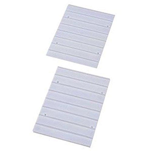 RoomClip商品情報 - アイリスオーヤマ カラーボックス レールボード ホワイト 奥行25.3×高さ38.7×厚さ0.8cm CXR-27