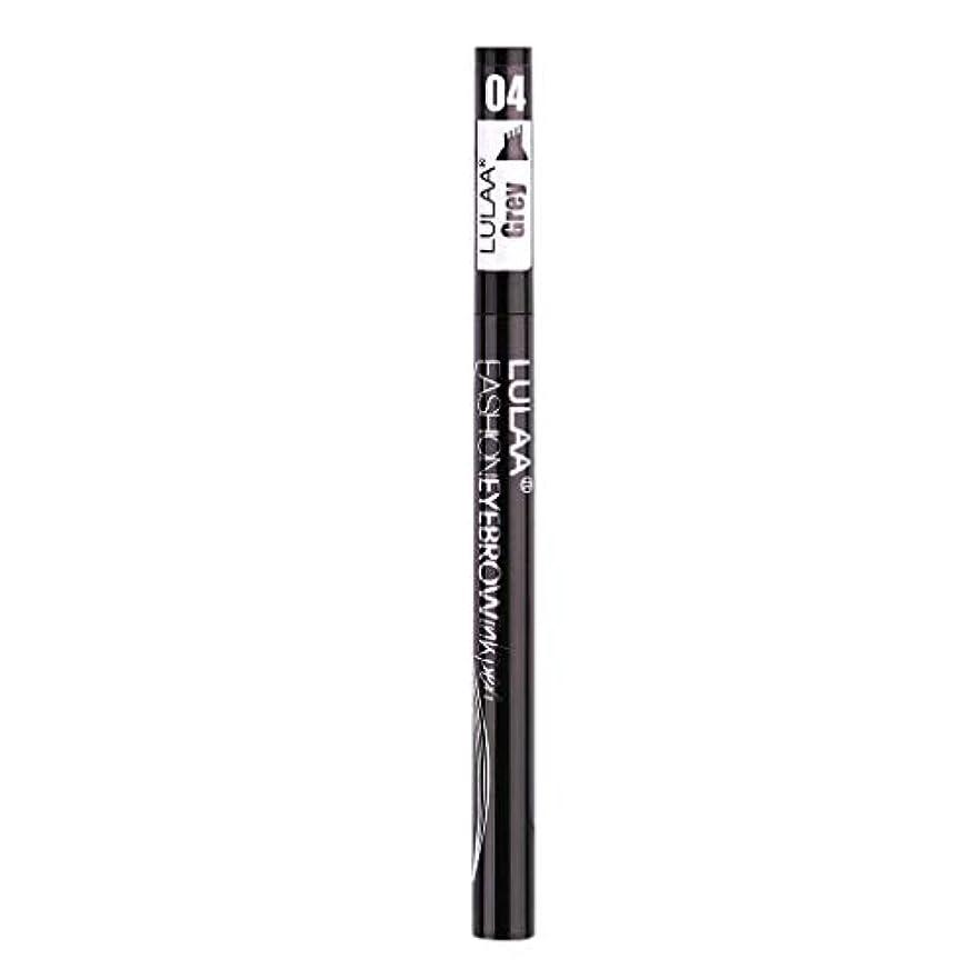 予防接種クラッチ成功着色すること容易な咲かない永続的な液体の眉毛の鉛筆