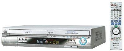 パナソニック 200GB DVDレコーダー VHSビデオ一体型 DIGA DMR-EH70V-S