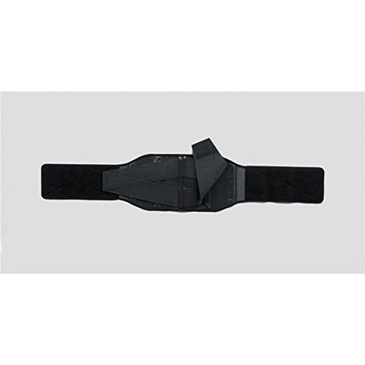 衣服風時間とともに(まとめ)竹虎 骨盤ベルト ランバック M ブラック 33993【×5セット】 ds-1547323