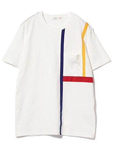 (ビームスライツ) BEAMS LIGHTS/グログランテープクルーネックTシャツ 51040450012 LARGE ホワイト