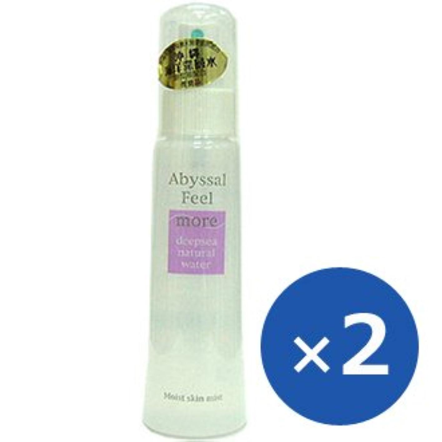 添加剤好奇心盛意志アビサルフィール モア 化粧水 100ml×2本