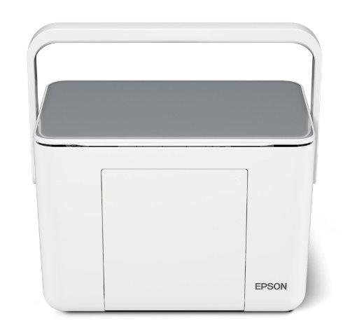 EPSON Colorio me コンパクトプリンター E-340S 2.5型カラー液晶 4色染料 シルバーモデル