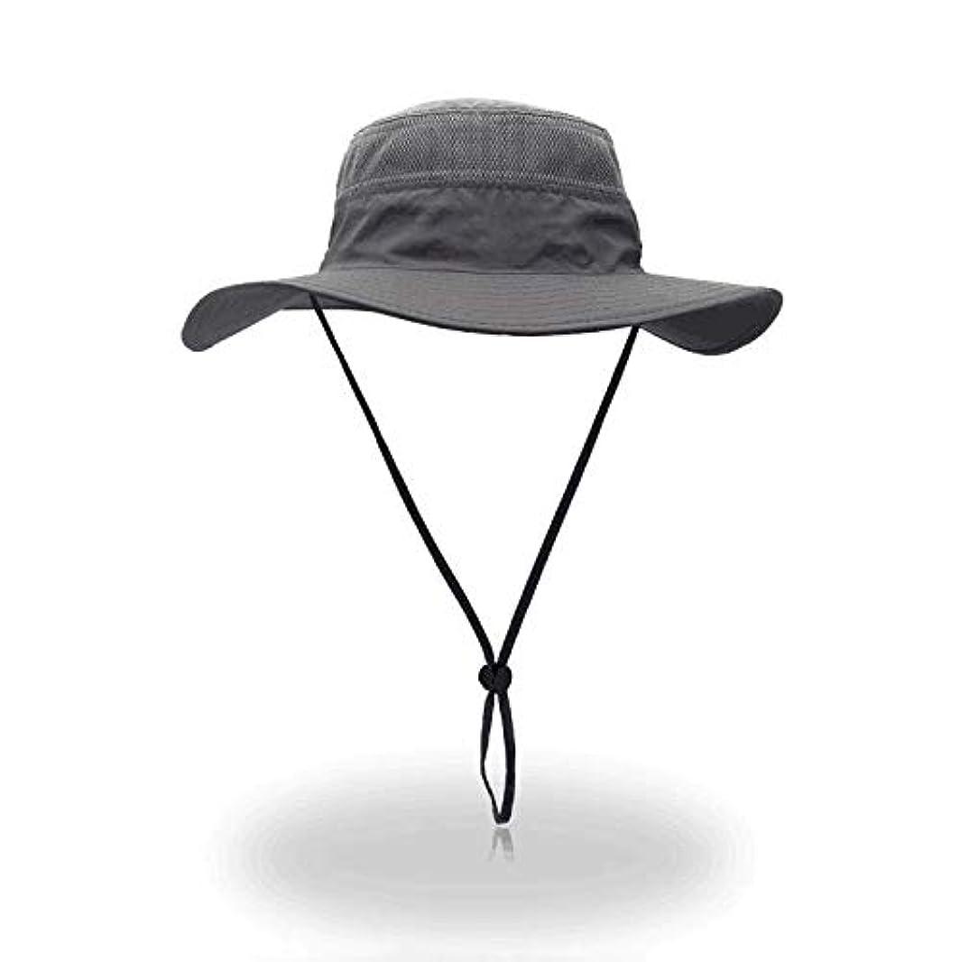 パーティー絶壁めまいLeekerry ハット ユニセックス フリーサイズ 【55-62cm 10色】 帽子紫外線対策 熱中症予防 アドベンチャー ハット 撥水 防水 メンズ レディース サイズ調整 UVカット アウトドア カラフル あご紐