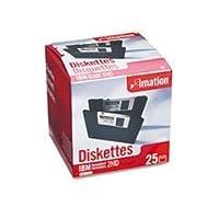 3.5インチFD、ibm-formatted、DS/HD、25/パック