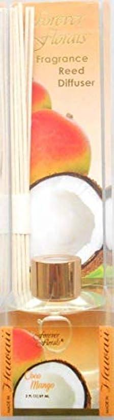豆腐発言する新年湘南インターナショナル フォーエバーフローラルズ リードディフューザー ココマンゴー 59ml