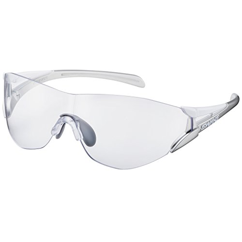 SWANS(スワンズ) スポーツ サングラス ソウ2シー クリアレンズ モデル コンパクトサイズ SOU2C-0012 W/GL ホワイト×シャンパンゴールド