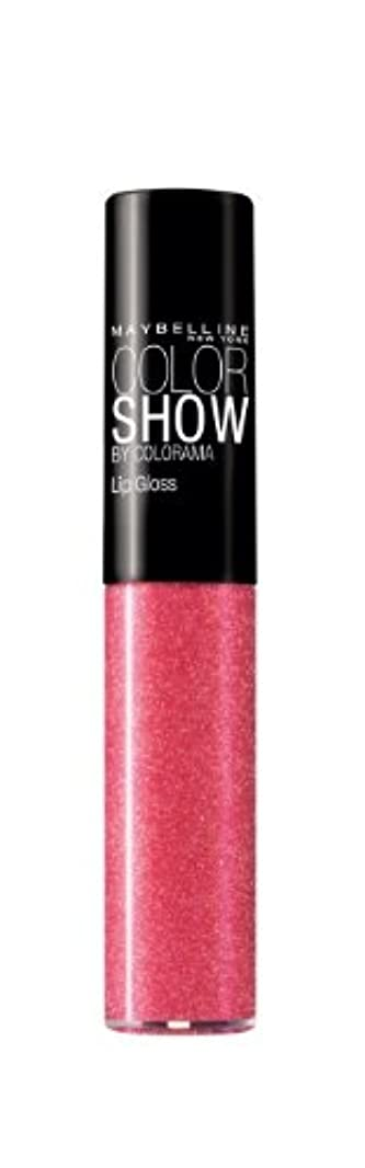 ソーダ水主流有毒Gloss Color Show Gemey Maybelline - 273 Tint Me Pink