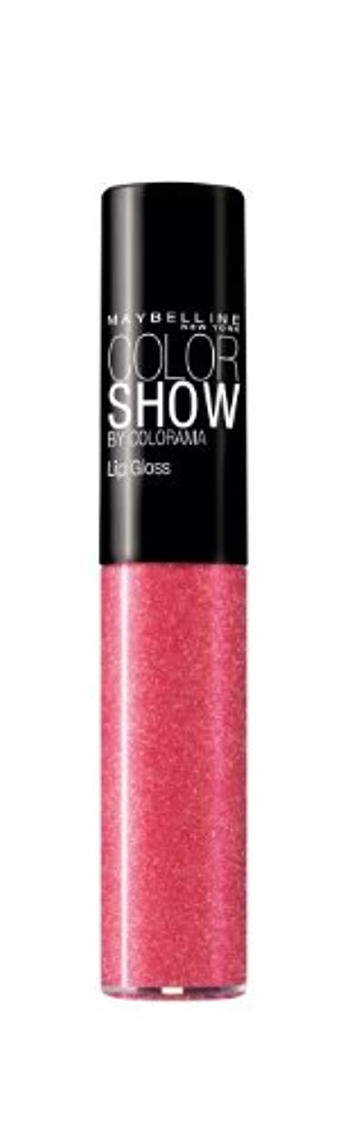 限りなく動物園軍艦Gloss Color Show Gemey Maybelline - 273 Tint Me Pink