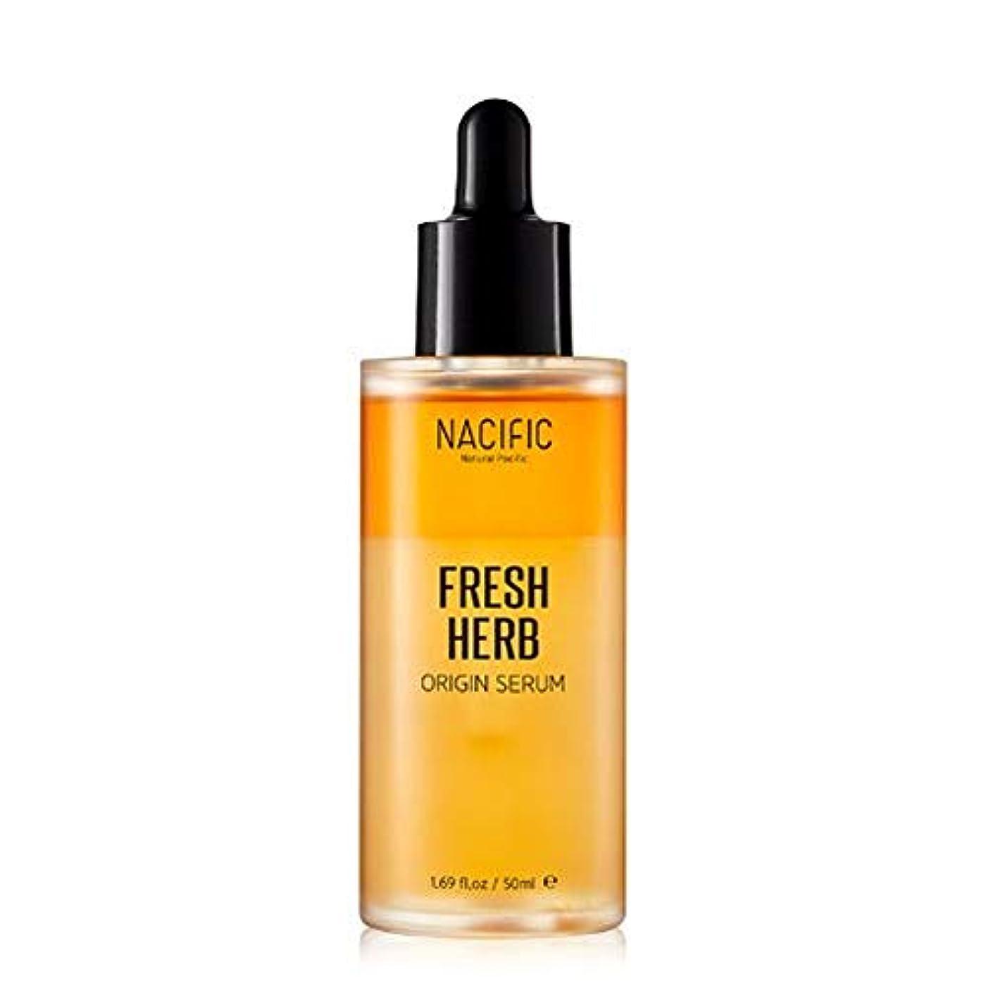 散歩に行く暴行先見の明[NACIFIC/ナシフィック] Fresh Herb Origin Serum 50ml/フレッシュ ハーブ オリジン セラム 50ml ヨックセラム 韓国コスメ 韓国 [並行輸入品]