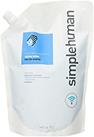 simplehuman Hand Soap, Spring Water, 1L