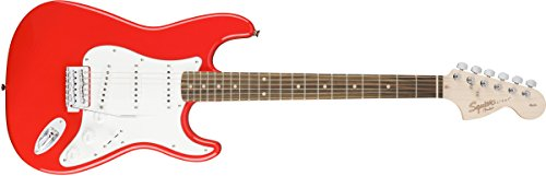 Squier エレキギター AFFINITY SERIES STRATOCASTER RACE RED