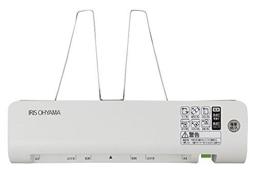 アイリスオーヤマ ラミネーター 簡単 A4 LM42E ホワイト