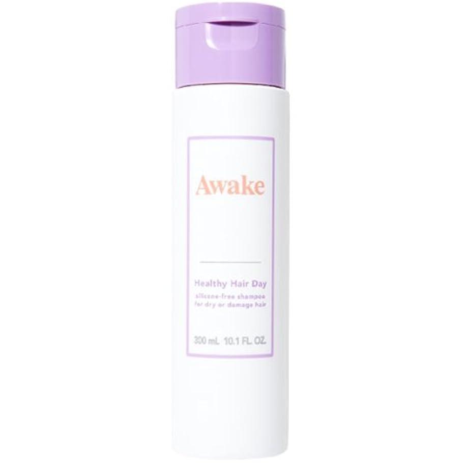 段階腹色合いアウェイク(AWAKE) Awake(アウェイク) ヘルシーヘアデイ シリコーンフリー ヘアシャンプー ドライ & ダメージヘア用 (300mL)